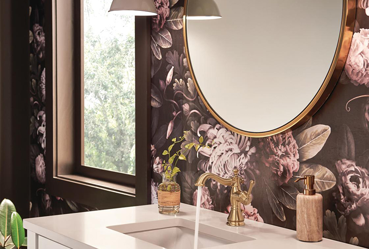 Small-bathroom ideas: Add an extra mirror to brighten up the space