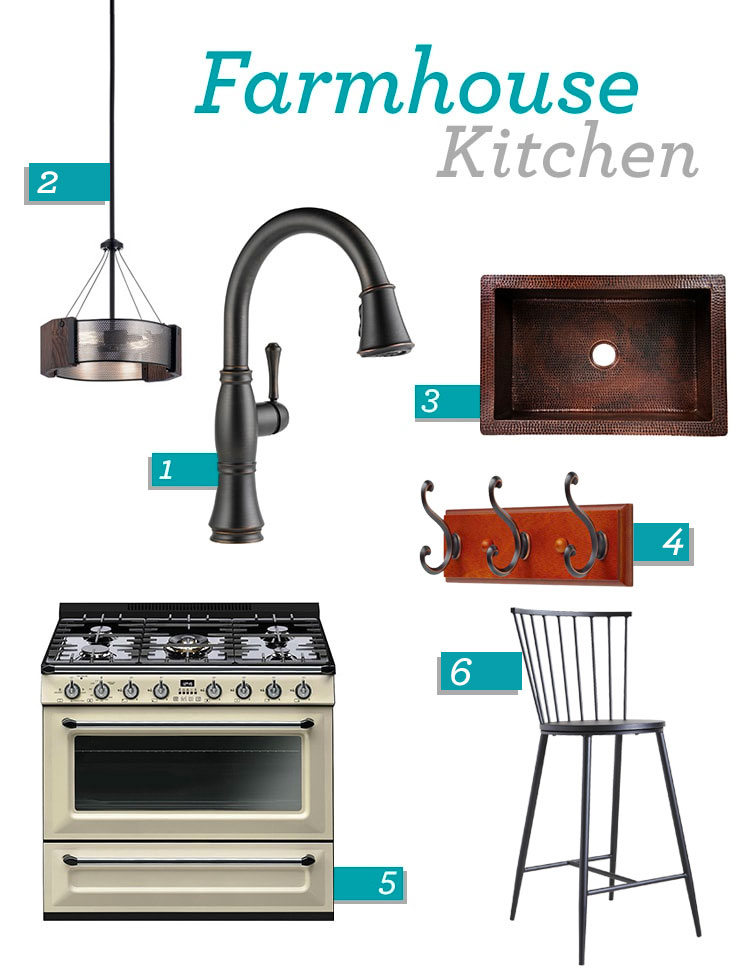 Farmhouse Kitchen Design Ideas Mood Board Delta Faucet Inspired Living