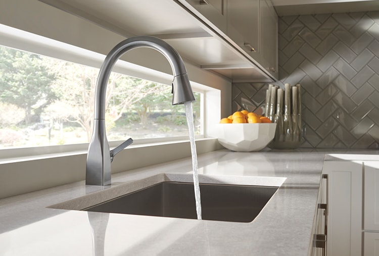 Square Faucet Design Feature From Milk Bottle To Mateo How A Delta Designer Created A Square Faucet Delta Faucet Inspired Living