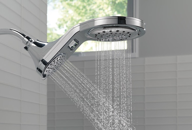 Luxury Bathroom Ideas To Splurge On A Raincan Shower Head And More Delta Faucet Inspired Living