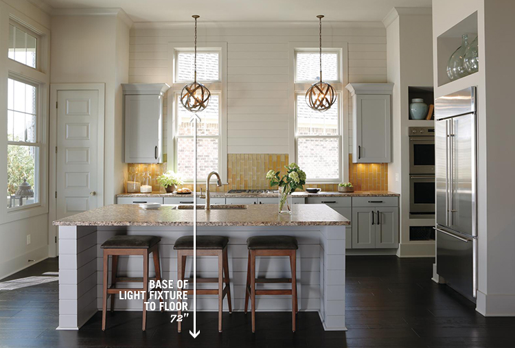 KitchenMeasurementGuide_Article06 light fixture