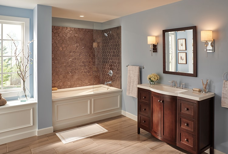 Simple Bathroom Upgrades Easy Ideas For Improving Your Bathroom Delta Faucet Inspired Living