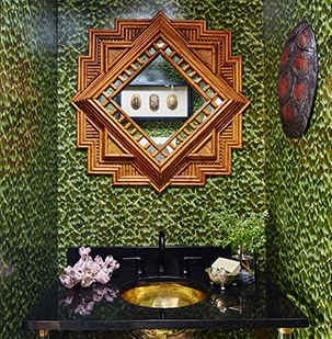Designing small, bold bathrooms