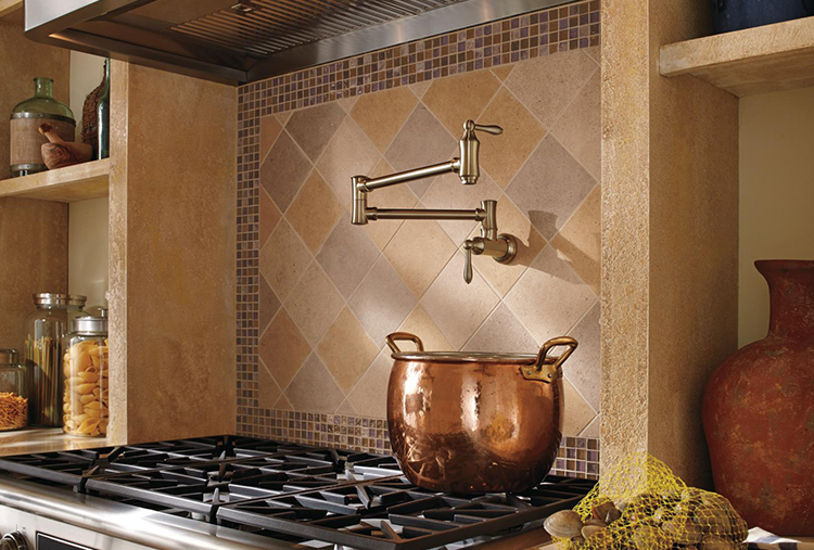 Wall Mounted Pot Filler Faucets