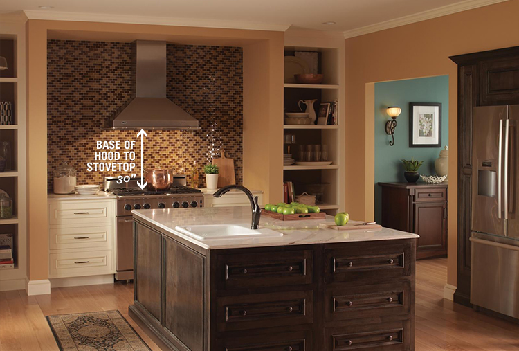 Kitchen Measurements: Hood Height from Stovetop