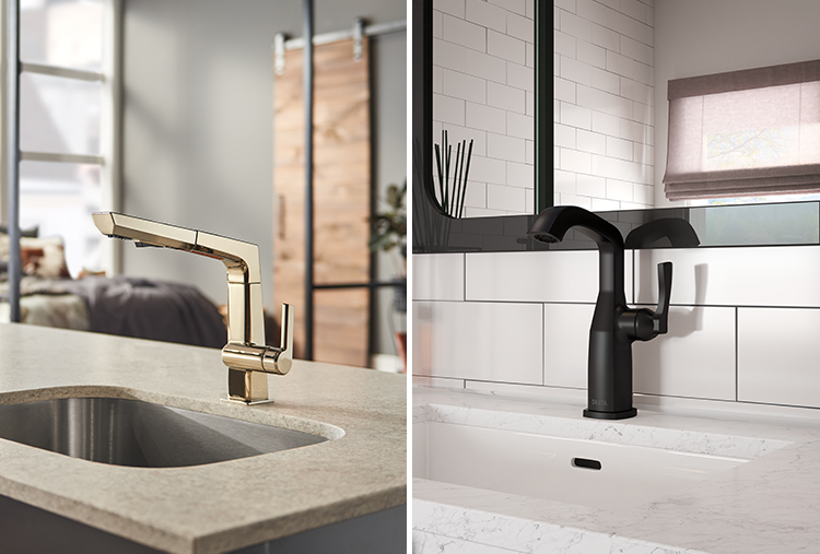 Unique Faucet Finishes from Delta Faucets