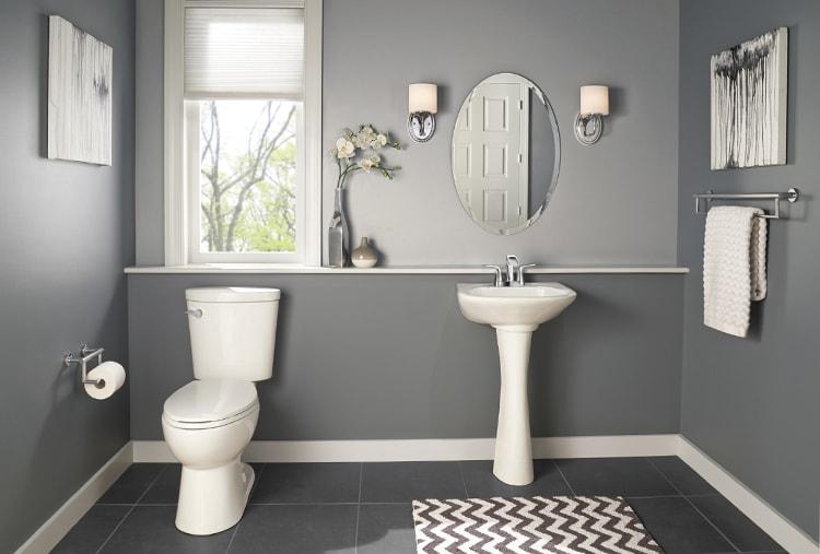 Powder Room Decorating Ideas Delta Faucet Inspired Living