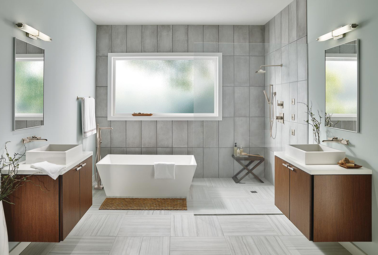 Updated Master Bathrooms